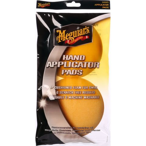 MEGUIARS HAND APPLICATOR PADS 2/PACK