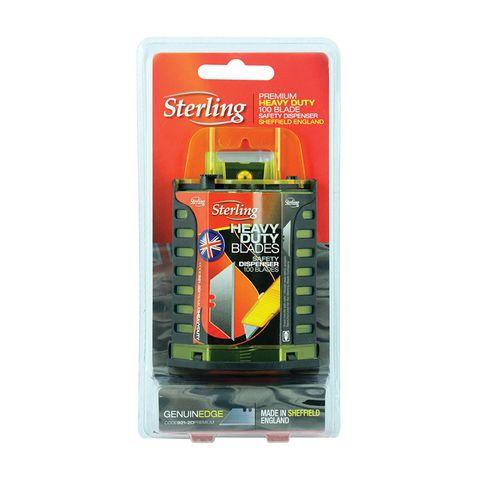 STERLING UTILITY BLADE DISPENSER 100/PK