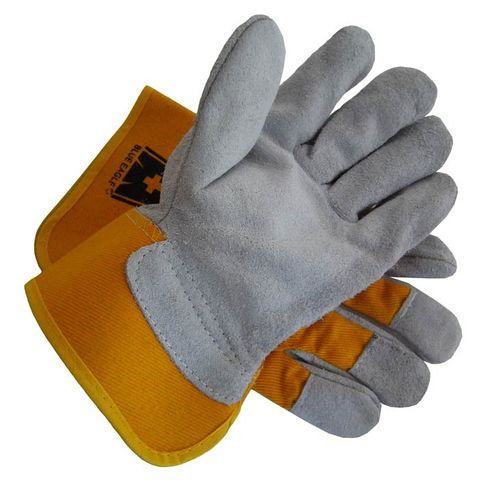 BLUE EAGLE HANDYMAN GLOVES - YELLOW