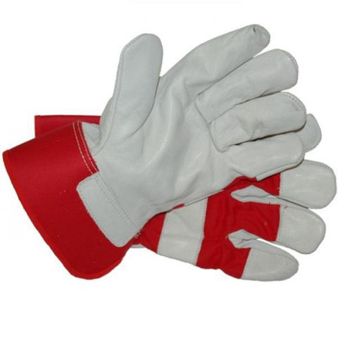 BLUE EAGLE CANADIAN HANDYMAN GLOVES -RED