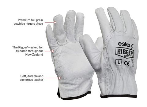 ESKO E280 PREMIUM RIGGER GLOVES - LARGE