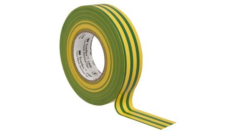 3M PVC ELECTRICAL TAPE 18MM YELLOW/GREEN