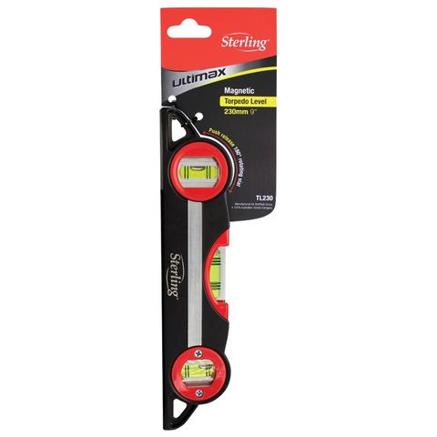 STERLING MAGNETIC TORPEDO LEVEL 230MM