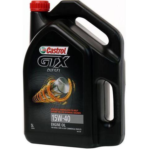 CASTROL GTX DIESEL OIL 15W40  5L