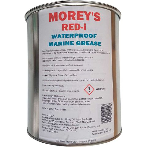 MOREYS RED-I GREASE 2.5KG  [TIN]