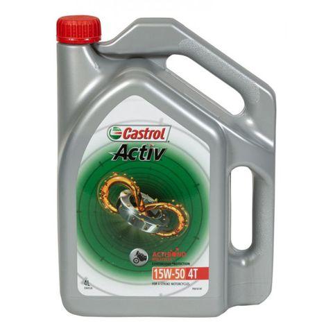 CASTROL ACTIV 4T  15W50 4 LITRE