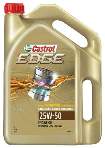 CASTROL EDGE SPORT 25W50  5 LITRES