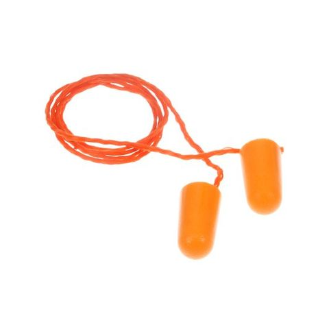 3M 1110 EAR PLUGS - WITH CORD -  SINGLES / LOOSE
