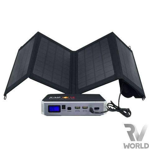 JUMP SOLAR RC JUMP START 800A - WITH SOLAR PANEL