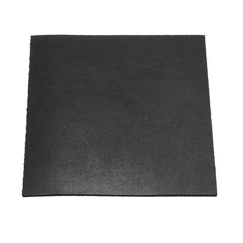BLACK NITRILE RUBBER SHEET 6.0MM - SQ FT