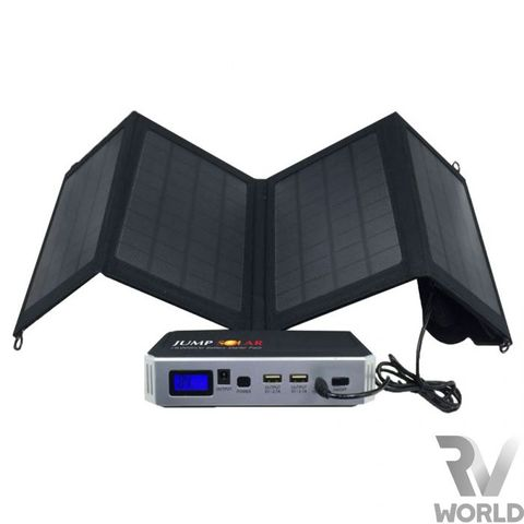 JUMP SOLAR RC JUMP START 600A - WITH SOLAR PANEL