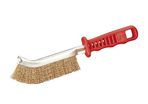 JAZ HAND BRUSH VIP1000F RED HANDLE STEEL