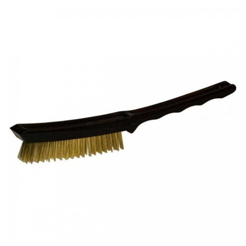 SNG 4-ROW SCRATCH BRUSH  BLACK /  BRASS