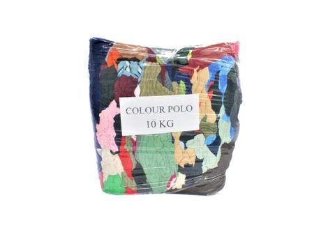 COLOURED COMPRESSED RAGS 10KG