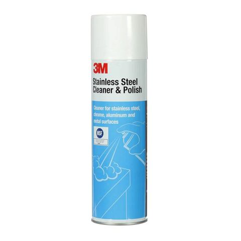 3M STAINLESS STEEL CLEANER & POLISH 609G