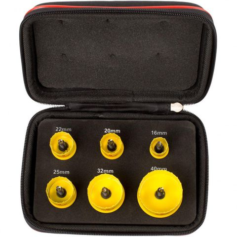 STARRETT 6PC GP HOLESAW SET 16-40MM