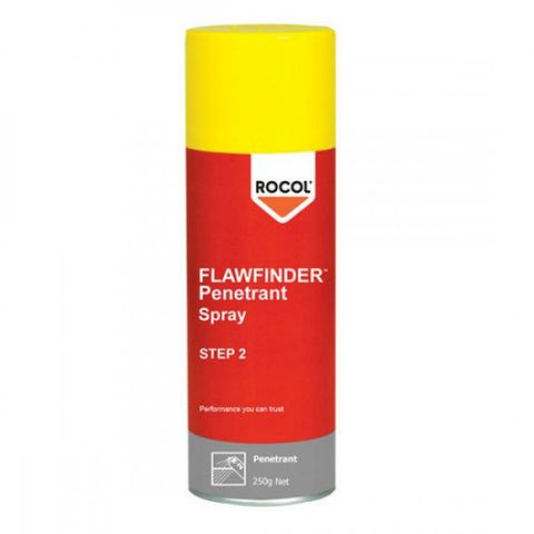 ROCOL FLAW FINDER PENETRANT SPRAY 250GM.