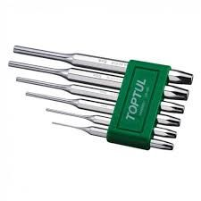 TOPTUL 5PC PIN PUNCH SET