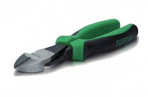 TOPTUL DIAGONAL PLIER CUSHION GRIP 8IN