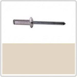 4-4 Dome Hd Blind Rivet Alum/Steel - WHITE BIRCH