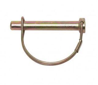 6mm Shaft Locking Pin Z/Yellow