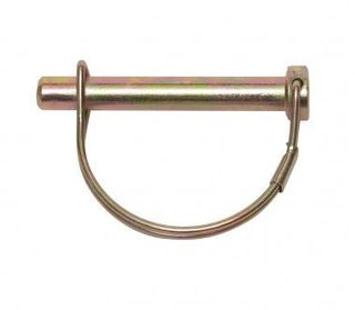10mm Shaft Locking Pin Z/Yellow