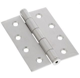 100mm x 75mm x 1.6mm Loose Pin Butt Hinge - ZP