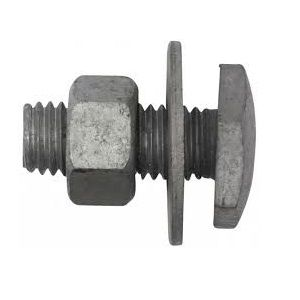 M12 x 30mm Fascia - Mild Steel - Galvanised