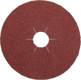 125 x 22 Fibre disc (CS561) Aluminium oxide/Star hole 120 Grit