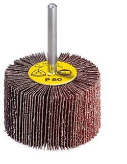 30 x 15 x 6 Flap wheel (KM613) Aluminium oxide/Spindle 80 Grit