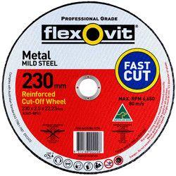 230 x 2.5 x 22.2 Metal Cutting Disc 1023022