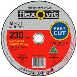 230 x 2.5 x 25.5 Metal Cutting Disc 1023025