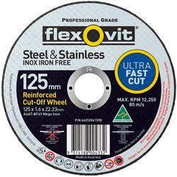 125 x 1.6 x 22 MegaLine Thin Inox Cutting Disc - 15127016
