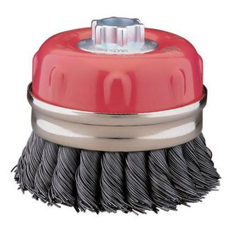 75mm Twist Knot Cup Brush Multi Bore 00210011602