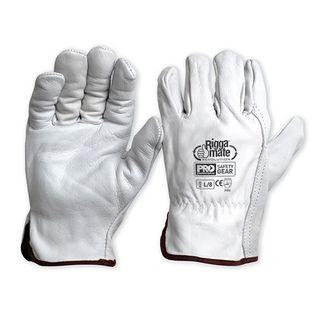 Cowhide Rigger Gloves N Grade Extra Large - blue