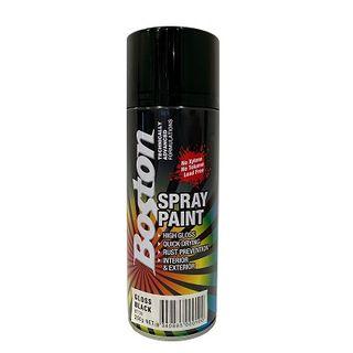 Touch Up Paint GLOSS BLACK 250g ENAMEL BOSTON