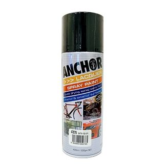 Touch Up Paint BLACK SATIN 300 GRAM CAN