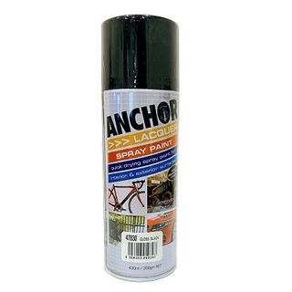 Touch Up Paint Black Gloss 300 GRAM CAN - 47830