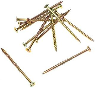 6g x 25mm Bugle Hd Ph COARSE D/Wall Scr Z/Yellow