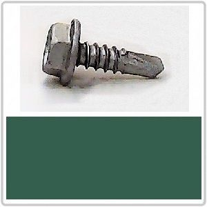 Self Drilling for Metal 10-16x16 HEX B8(Cat5) COTTAGE GREEN
