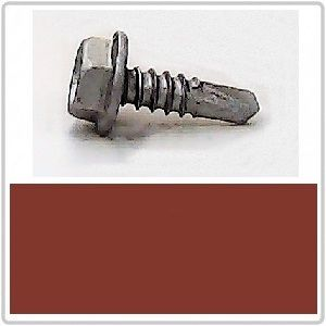 Self Drilling for Metal 10-16x16 HEX B8(Cat5) MANOR RED