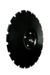 SCALLOPED DISC BLADE