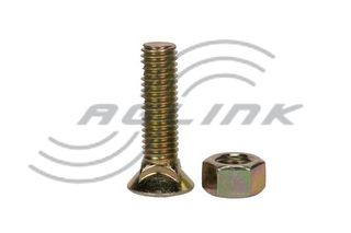 Csk Plough Bolt/Nut M11x45 10.9