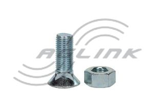 Csk Plough Bolt/Nut M11x40 Gr8.8