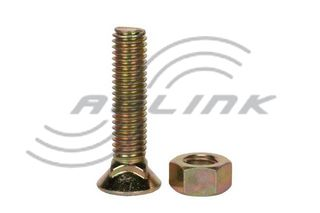 Csk Plough Bolt/Nut M11x60 10.9
