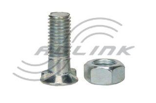 M12x30 CL8.8 Double Nib Plough Bolt/Nut