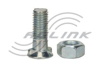 M12x35 CL10.9 Double Nib Plough Bolt/Nut