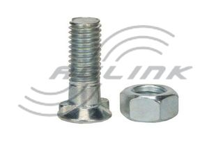 M12x40 CL10.9 Double Nib Plough Bolt/Nut