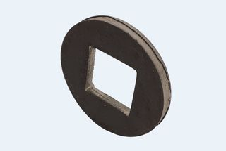 Disc Axle Welding Ring 40mm square