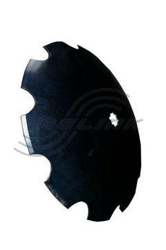 Bellota Scalloped Disc26 x8mm-11/2 &40mm sq axle